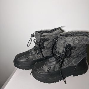 Bearpaw Bethany Girls Winter Boots size 5M